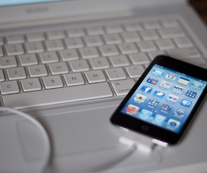 ipod touch and the one my first image