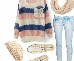 fashion, sweaters, and girly image