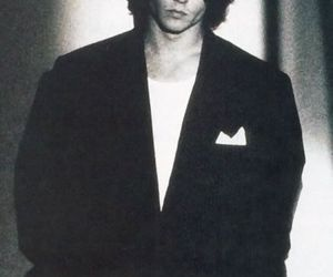 90's, black and white, and johnny depp image