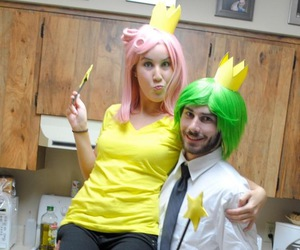 Halloween, halloween costumes, and cosmo & wanda image