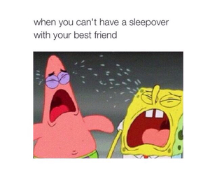 best friends, lol, and sleepover image