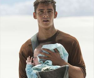 baby, the giver, and brenton thwaites image