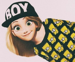 boy, disney, and rapunzel image