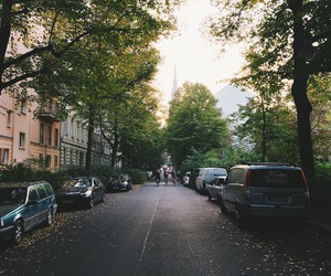 berlin, street, and view image