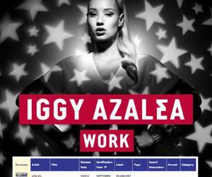 iggy azalea, work, and Iggy image