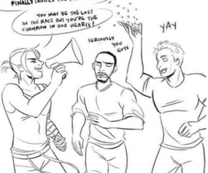 bucky, captain america, and Marvel image