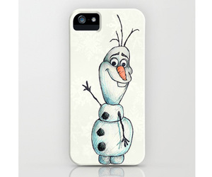 olaf, frozen, and iphone image