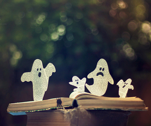 book, Halloween, and ghost image