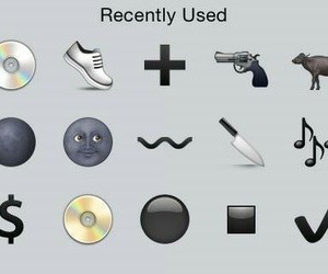 iphone and recently used image