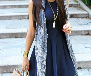 clothes, covering, and dress blue image