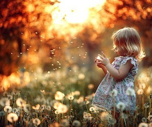 baby, flowers, and babygirl image