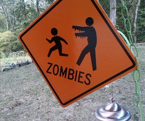 caution, decorate, and zombies image