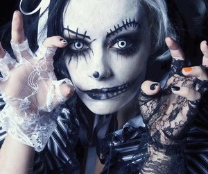 makeup and gothic image