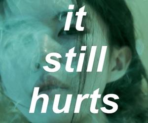 hurt, smoke, and grunge image