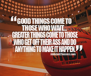 quote and Basketball image