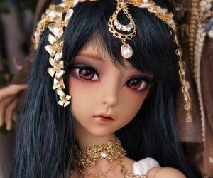 doll, bjd, and princess image