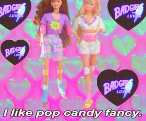 barbie, candy, and grunge image