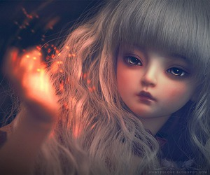 art, dollmore, and goth image