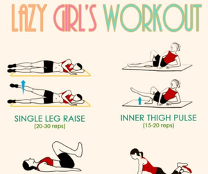 workout, fitness, and Lazy image