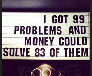 money and problem image