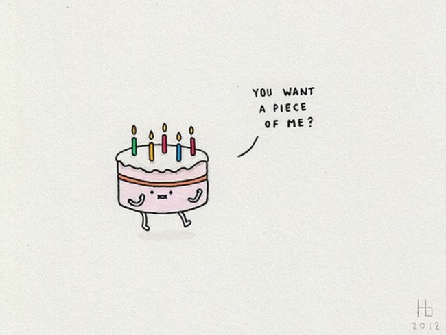 cake, cute, and fight image