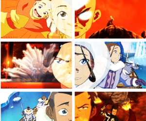 toph, aang, and the last airbender image