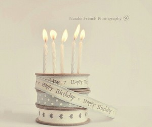 birthday, happy birthday, and candle image