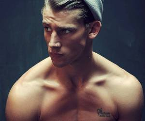 handsome, sexy, and tattoo image