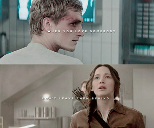 katniss, mockingjay, and peeta image