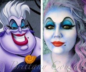 Halloween, makeup, and disney image