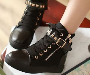 boots, shoes, and buckle image
