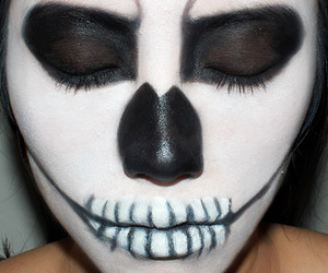 halloween ideas and halloween makup image
