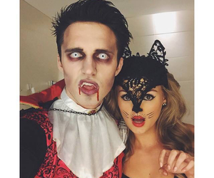 marcus butler, niomi smart, and Halloween image