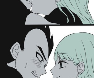 vegeta, bulma, and dragonball image