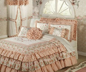 bedroom, comfort, and home image