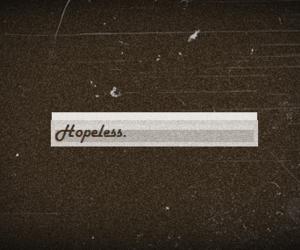 hopeless, hurt, and pain image