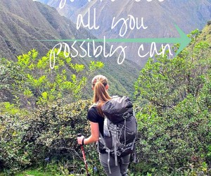 adventure, travel, and hiking image