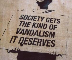 society, vandalism, and graffiti image