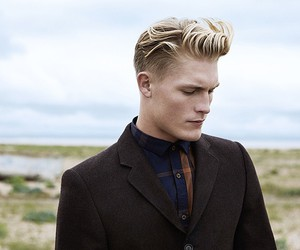 blonde, hair, and jaw image
