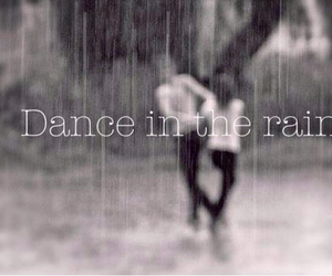 rain, dance, and love image