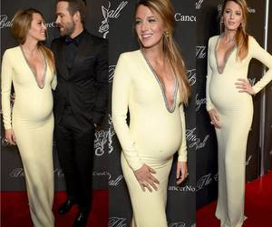 blake lively, pregnancy, and ryan reynolds image
