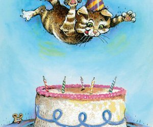 birthday card, cat, and happy birthday image