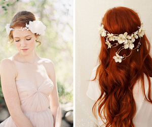 bride, hairstyle, and nice image