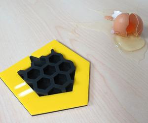 对比, 蜂巢, and 蛋 image