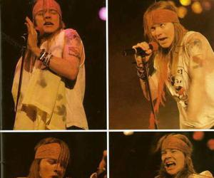 axl rose and girl image
