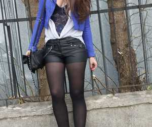 beautiful, casual, and girl image