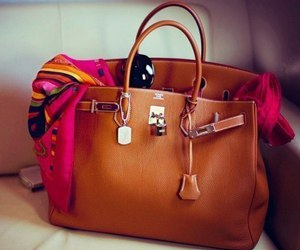 bag, hermes, and brown image