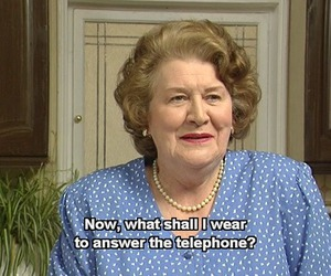 funny and keeping up appearances image