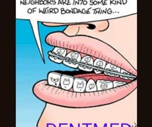 Dental, dentist, and funny image