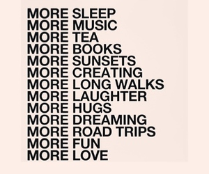 love, music, and sleep image